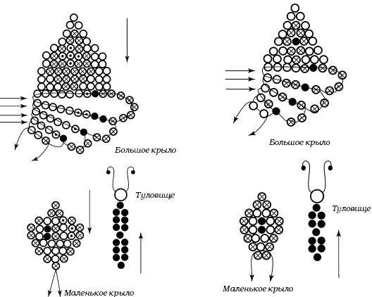 Схемы бисероплетения объёмных
