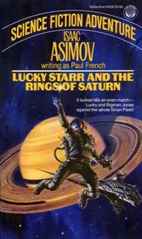 Lucky Starr and the Rings of Saturn Isaac Asimov