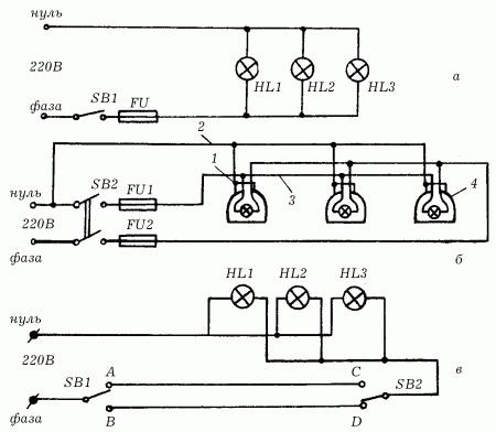 электрическая схема эмур